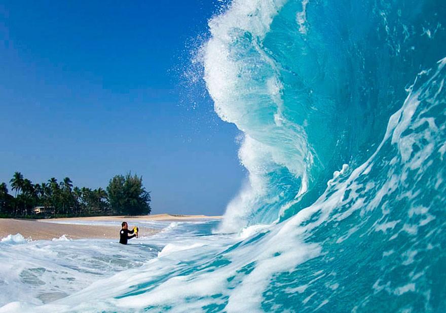 Photos de surf : quand déclencher