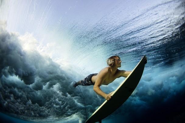 Photos de surf : l'action et le surfeur