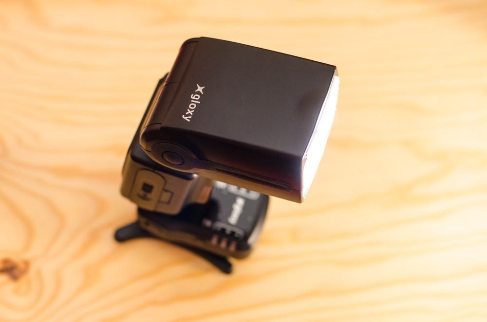 utiliser un flash : l'onglet-diffuseur
