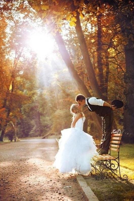 Photos de mariage : champêtre et bucolique