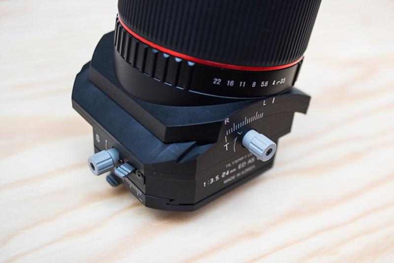 L'objectif Samyang 24mm Tilt-Shift