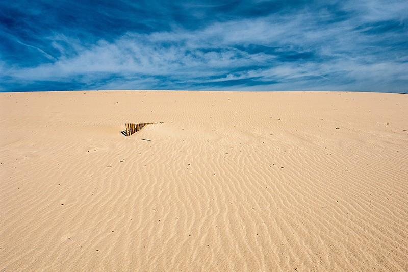 Placer l'horizon dans les photographies de paysage - la terre