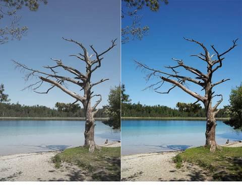 Un filtre UV, essentiel pour sortir photographier en plein jour