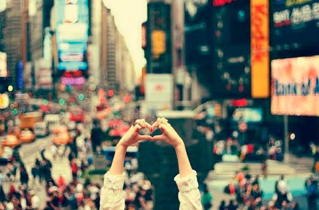 Photos de voyage : amour