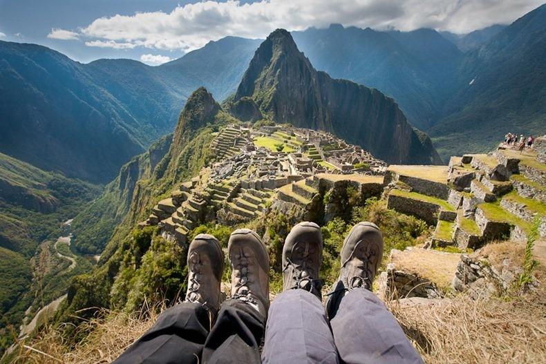 Photos de voyage : les photos de pieds