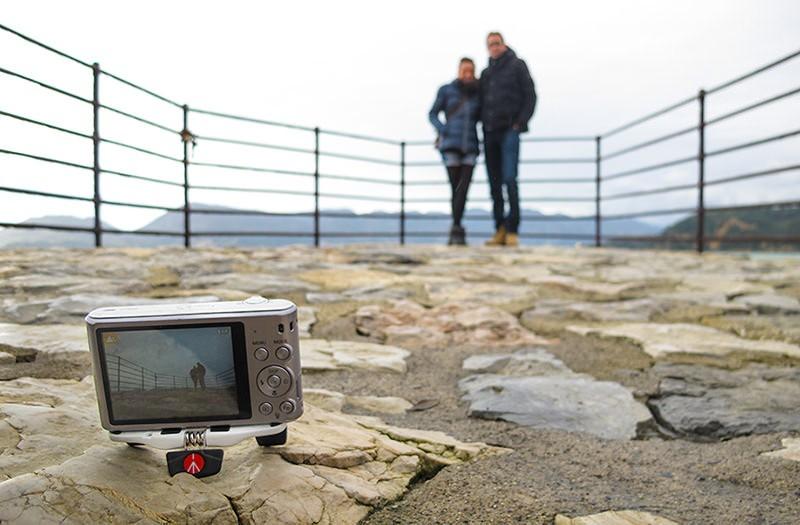 Utilisez le retardateur de votre appareil photo pour apparaître aussi sur la photo