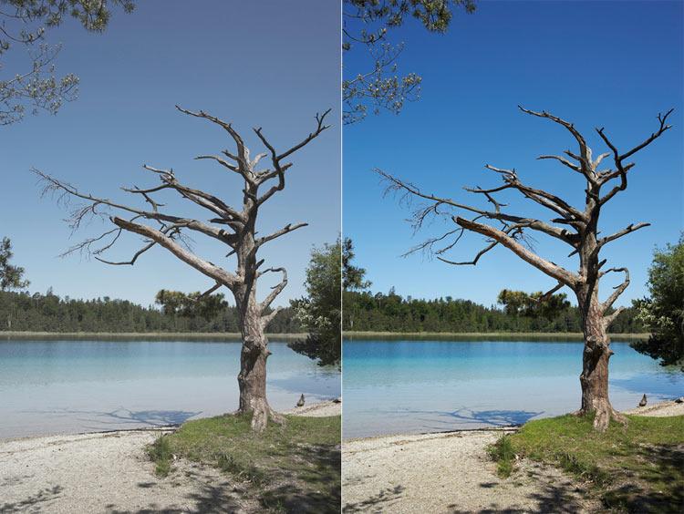 filtres photo UV