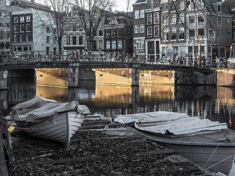 Prendre des photos de voyage sans qu'elles n'aient l'air de cartes postales : Amsterdam
