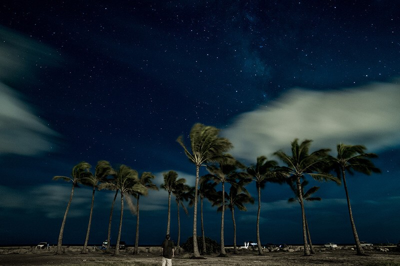 Milky Way Ewa Beach Hawaii Oahu, de Be808
