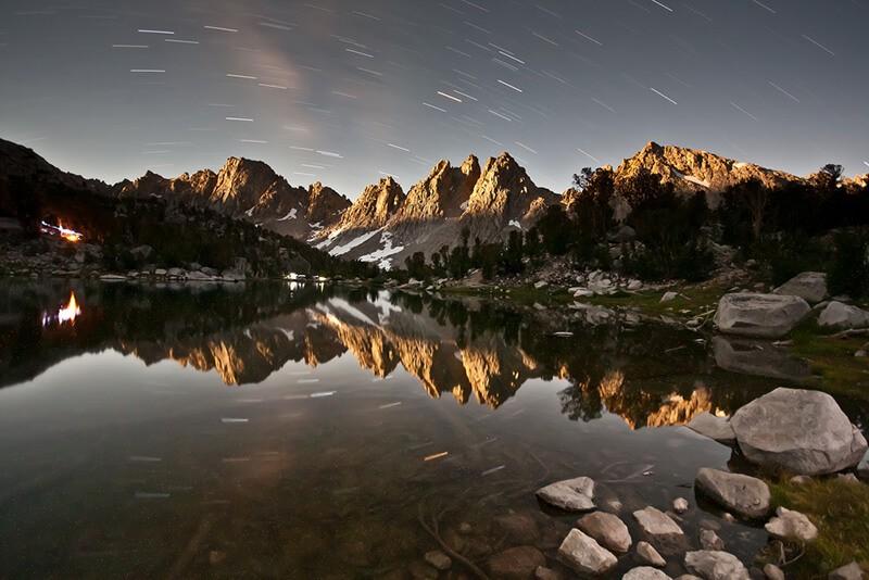 30 incroyables photos d'étoiles pour vous inspirer : Kearsarge Pinnacles by Moonlight de Jeff P