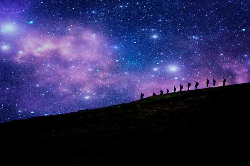 30 incroyables photos d'étoiles pour vous inspirer: Star walekr, de Paul Kline