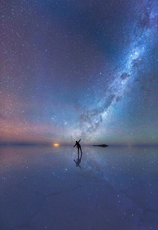 The Mirrored Night Sky, de Xiaohua Zhao