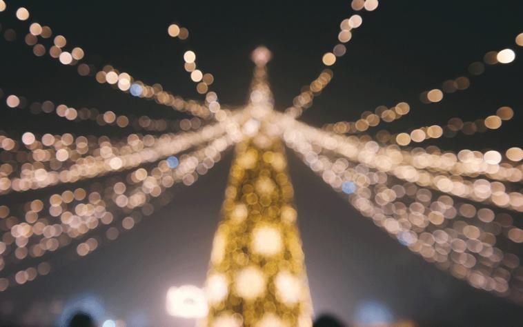 Comment photographier les illuminations de Noël