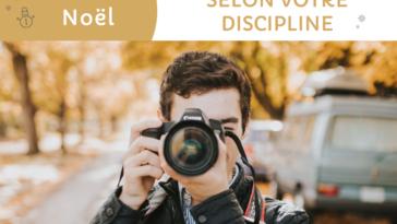 Idées cadeaux pour le photographe selon sa discipline