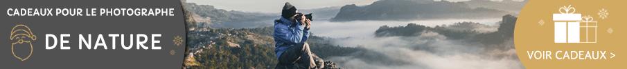 Cadeaux pour le photographe de nature
