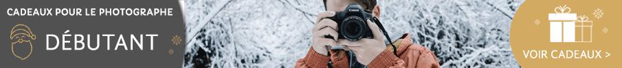 Cadeaux pour le photographe débutant
