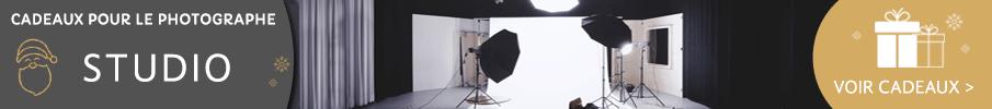 Cadeaux pour le photographe studio