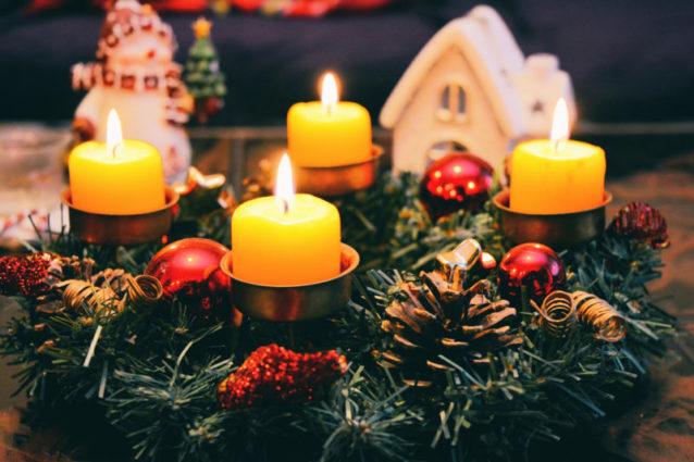 20 conseils pour photographier les bougies à Noël