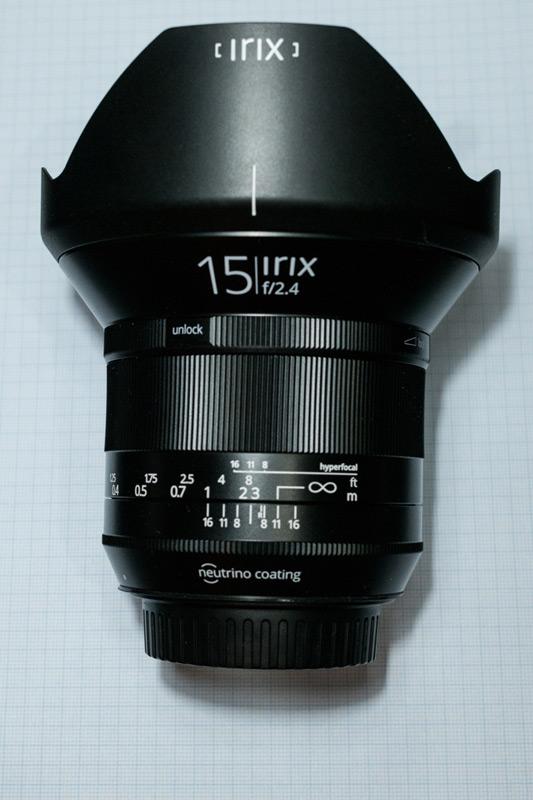 test Irix Samyang