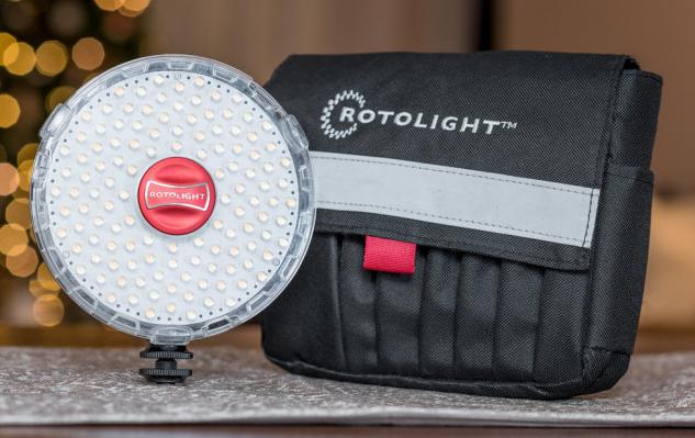 Rotolight NEO 2 : un éclairage continu et un flash HSS dans un seul et même accessoire