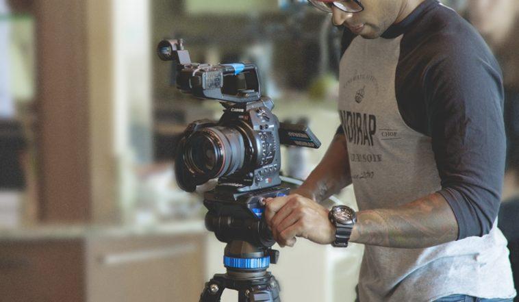 Trépied vidéo professionnel