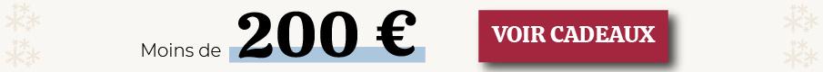 Idées cadeaux photo selon votre budget : moins de 200 euros