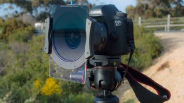 Le porte-filtres Irix IFH-100 et les filtres Edge gradués au banc d'essai