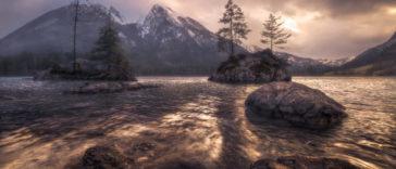 Filtres gradués pour des photos de paysages