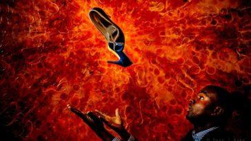 Comment a été prise cette photo ? Les chaussures explosives