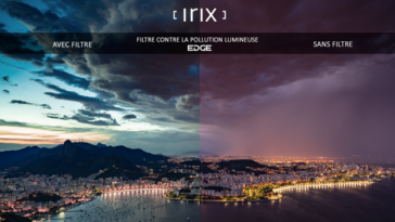 Filtre Irix Edge 100 contre la pollution lumineuse