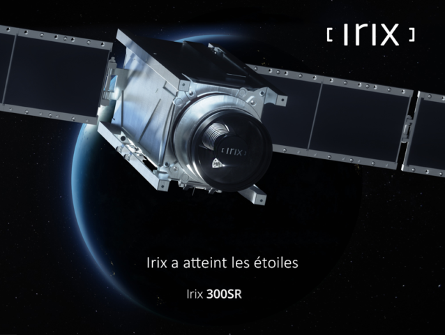 Irix 300SR a atteint les étoiles