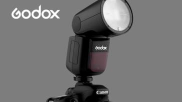 Godox V1 : le nouveau flash à l'innovante tête arrondie
