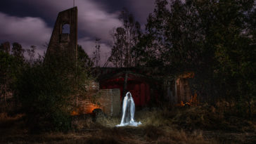 Le lightpainting pour Halloween : créez des images terrifiantes