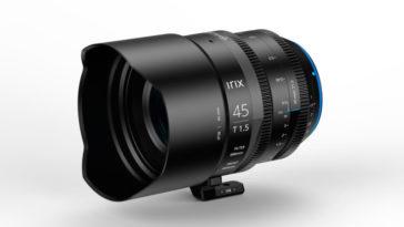 Irix Cine 45 mm T1.5 : une nouvelle percée dans les objectifs cinéma