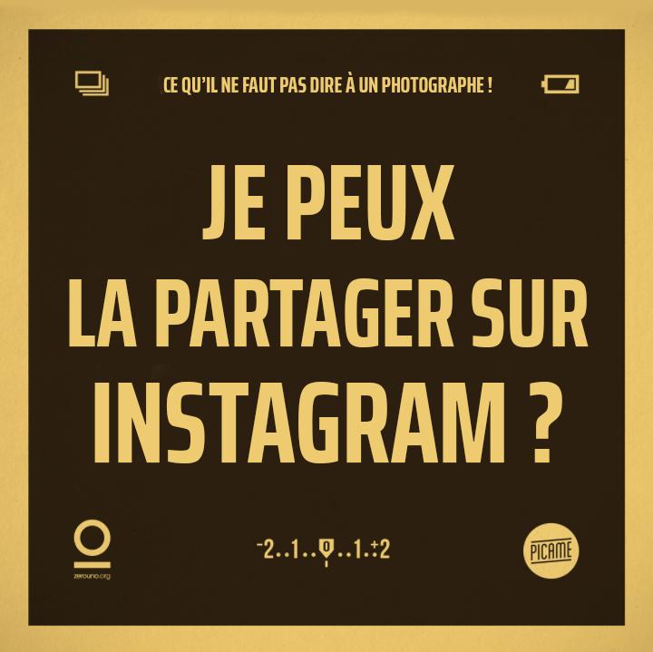 Je peux la partager sur Instagram ?