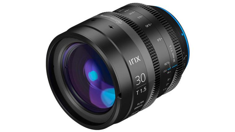 Irix Cine 30 mm T1.5 : votre nouvel objectif préféré